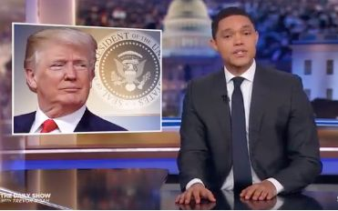 "Trevor Noah loves that Nick Mulvaney called Trump a ""terribel human being."""