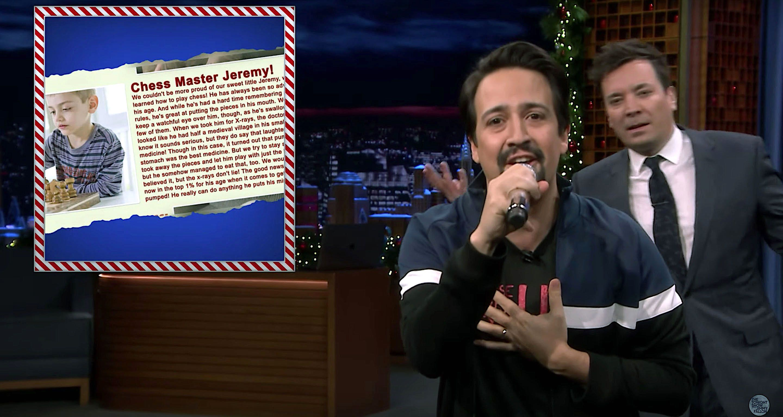 """Lin-Manuel Miranda and Jimmy Fallon on """"The Tonight Show"""""""