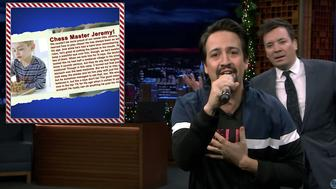 "Lin-Manuel Miranda and Jimmy Fallon on ""The Tonight Show"""