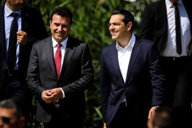 Πρωτοβουλία ώστε οι Τσίπρας και Ζάεφ να είναι υποψήφιοι για το επόμενο Νόμπελ