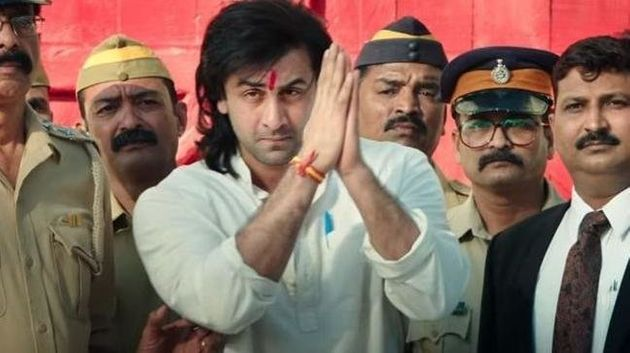 Ranbir Kapoor as Sanjay Dutt in
