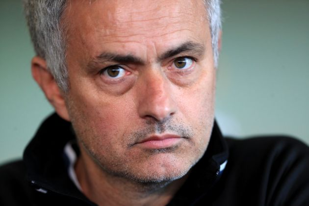 Manchester United manager Jose Mourinho has left the