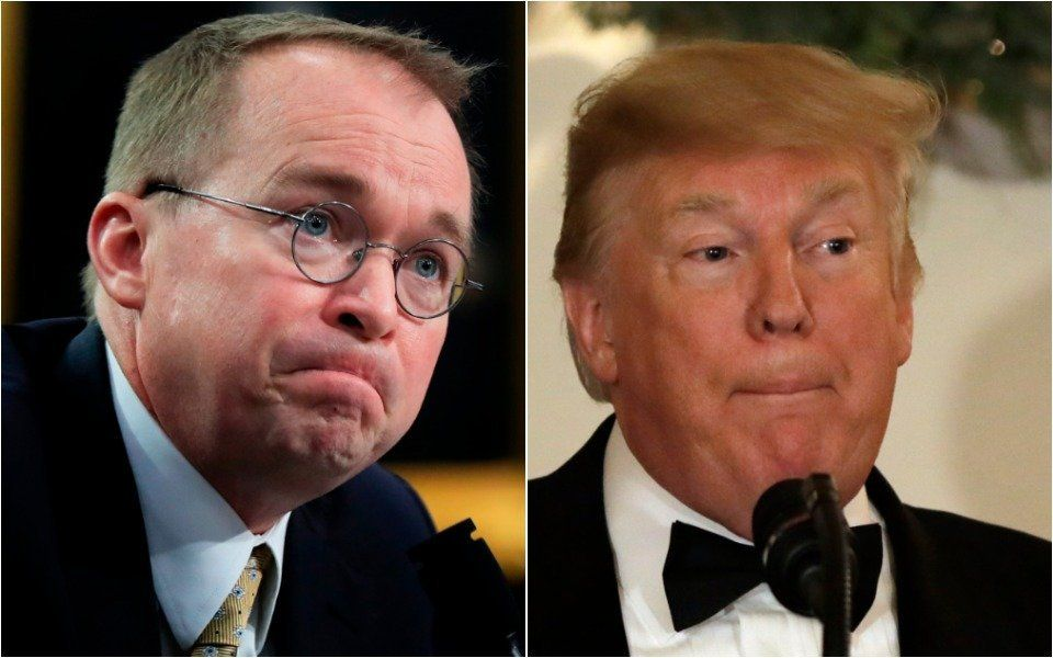 More Of Mick Mulvaney's Anti-Trump Comments Come Back To Haunt Him