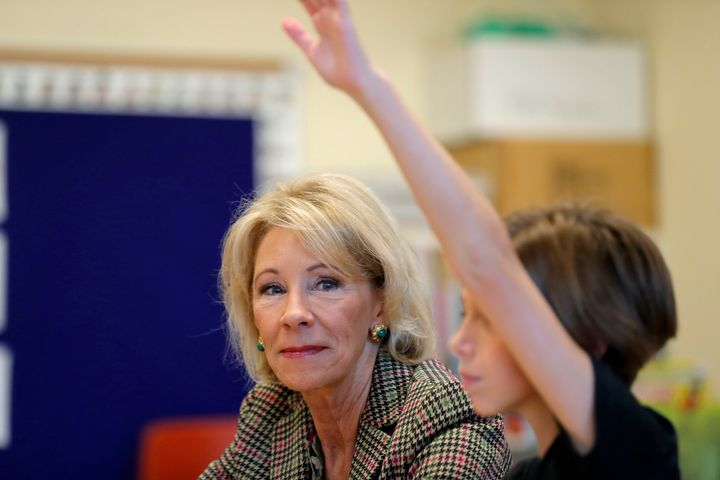 Department of Education Secretary Betsy DeVos led theFederal Commission on School Safety.