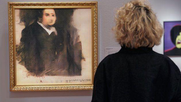 Portrait of Edmond de Belamy (Timothy A. Clary/AFP/Getty