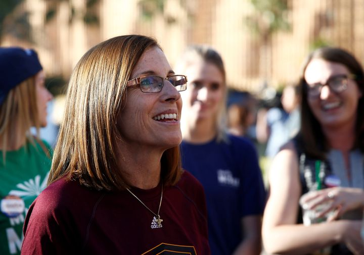 Martha McSally will serve in the U.S. Senate seat that belonged to late Sen. John McCain.