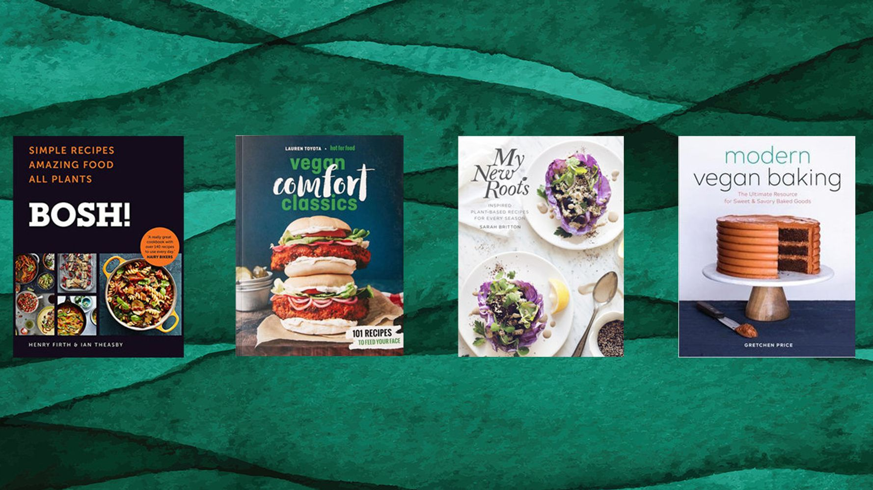 5 Vegan Cookbooks To Help You Kickstart Veganuary