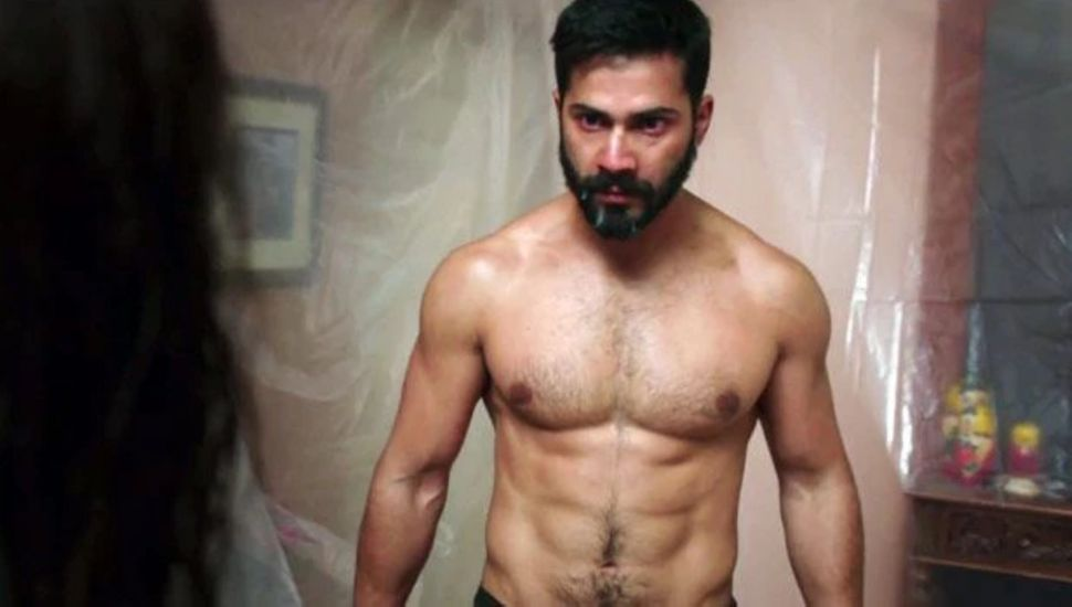 Varun Dhawan in a still from 'Badlapur'.