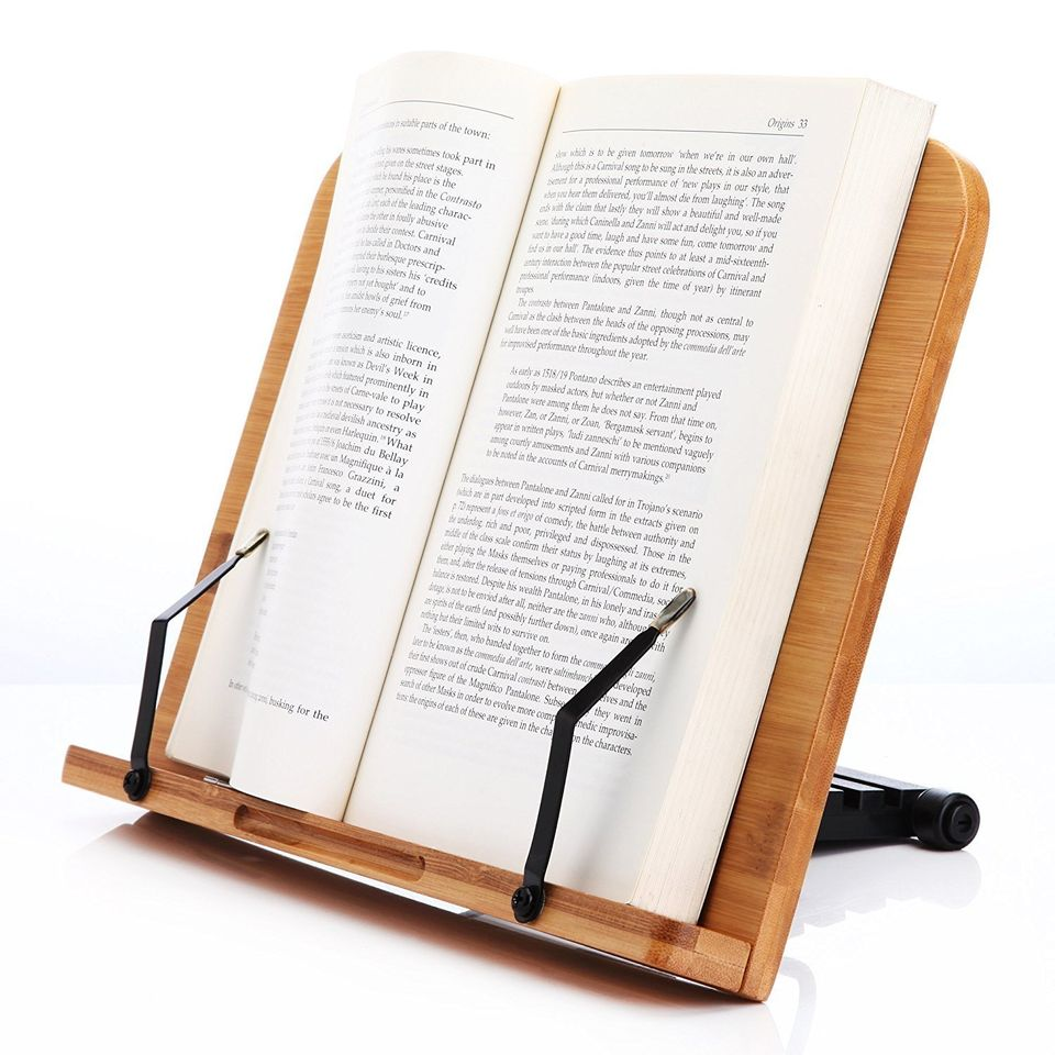 A Cly Cookbook Stand