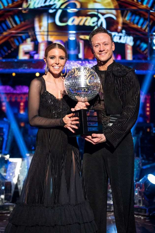Stacey Dooley won the show with now-boyfriend Kevin in