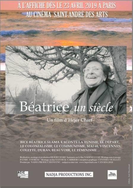 Figure de gauche: Découvrez l'histoire Béatrice Slama, cette tunisienne de confession juive, dans le...