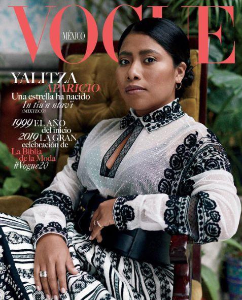 Yalitza Aparicio est la première Amérindienne en Une de