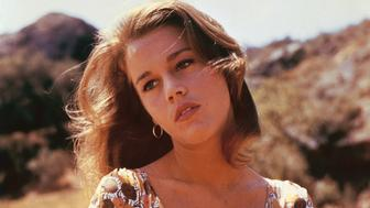 Hollywood screen goddess Jane Fonda and star of 1961 movie 'Walk on the Wild Side,' directed by Edward Dmytryk. (Photo by Sunset Boulevard/Corbis via Getty Images)