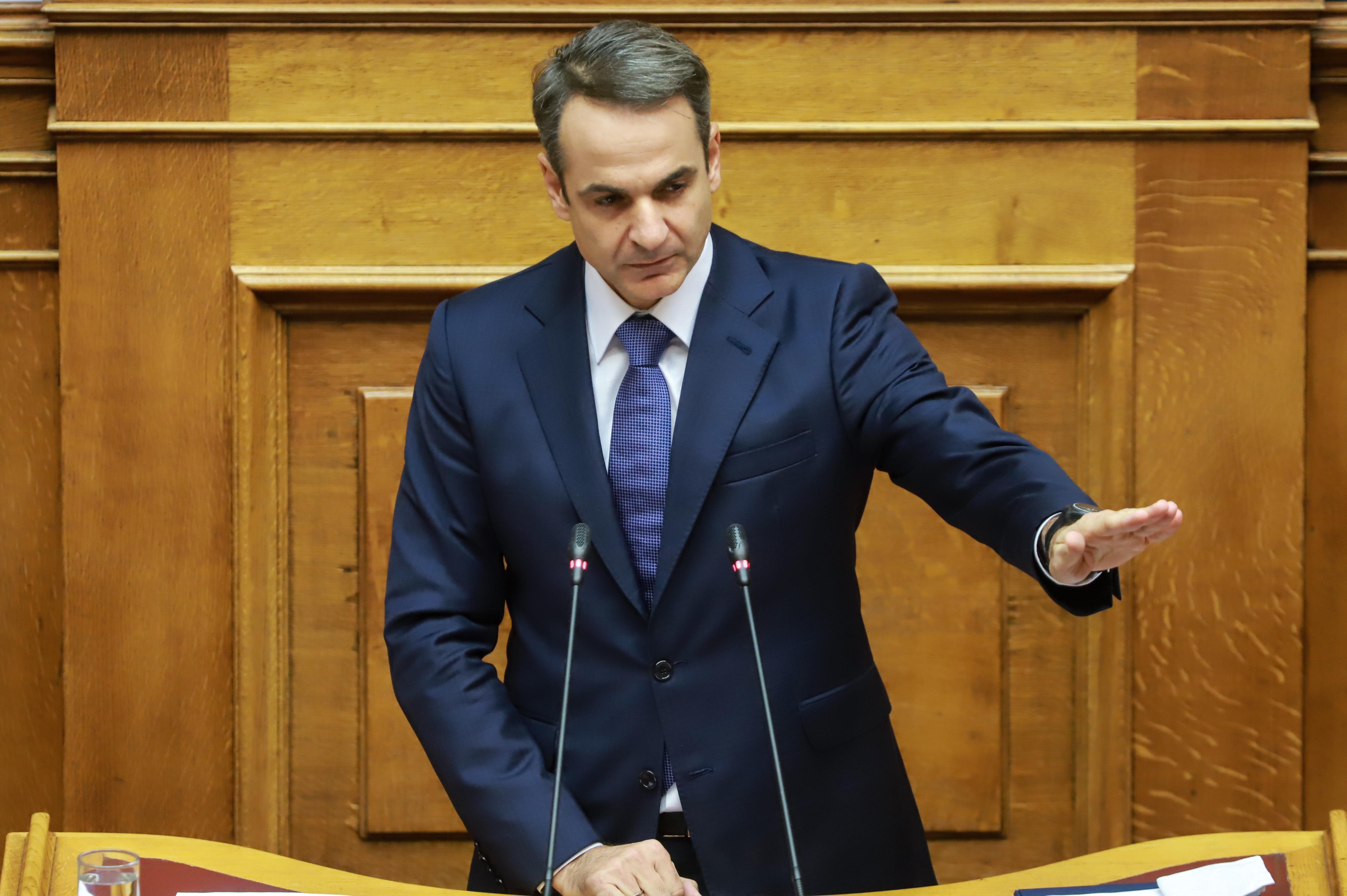 Μητσοτάκης: Καταψηφίζουμε τη χειρότερη κυβέρνηση της