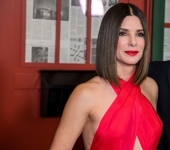 "Sandra Bullock attends a screening of ""Bird Box"" on Monday in New York. The actress said on the ""Today"" show that she's scali"