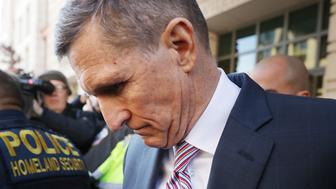 WASHINGTON, DC - DECEMBER 18: Former White House National Security Advisor Michael Flynn leaves the Prettyman Federal Courthouse following a sentencing hearing in U.S. District Court December 18, 2018 in Washington, DC. Flynn's lawyers accepted the judge's offer to delay sentencing for lying to the FBI about his communication with former Russian Ambassador Sergey Kislyak. Special Prosecutor Robert Mueller has recommended no prison time for Flynn due to his cooperation with the investigation into Russian interference in the 2016 presidential election. (Photo by Chip Somodevilla/Getty Images)