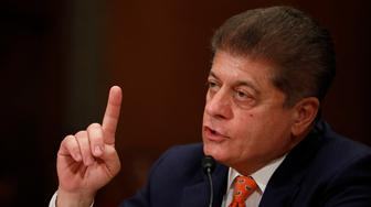 WASHINGTON, DC - JUNE 6:  Andrew Napolitano, senior judicial analyst for the Fox News Channel, testifies during a Federal Spending Oversight And Emergency Management Subcommittee hearing June 6, 2018 on Capitol Hill in Washington, DC. Members of both parties raised questions about a lack of Congressional oversight of military deployments overseas. (Photo by Aaron P. Bernstein/Getty Images)