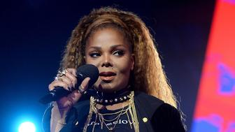 BILBAO, SPAIN - NOVEMBER 04:  Janet Jackson on stage during the MTV EMAs 2018 at the Bilbao Exhibition Centre (BEC) on November 04, 2018 in Bilbao, Spain. (Photo by Dave Hogan/MTV 2018/Dave J Hogan/Getty Images for MTV)