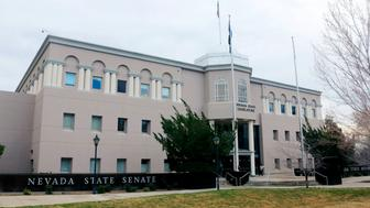 Nevada Legislature building housing the Nevada state senate and assembly in the state capital Carson City Nevada. (Photo by: Education Images/UIG via Getty Images)