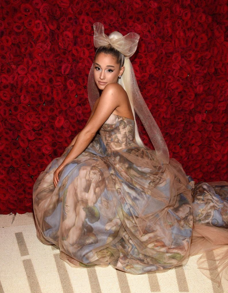 Ariana Grande's Upside-Down Christmas Tree Is The Perfect End To Her