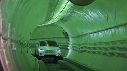 Los Angeles: Elon Musk dévoile un tunnel pour révolutionner les transports