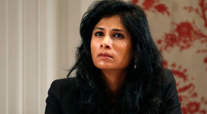 A file photo of Gita Gopinath.