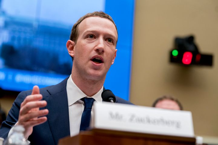 Facebook CEO Mark Zuckerberg testifying before Congress in April. The tech giant's privacy policies have been under scrutiny