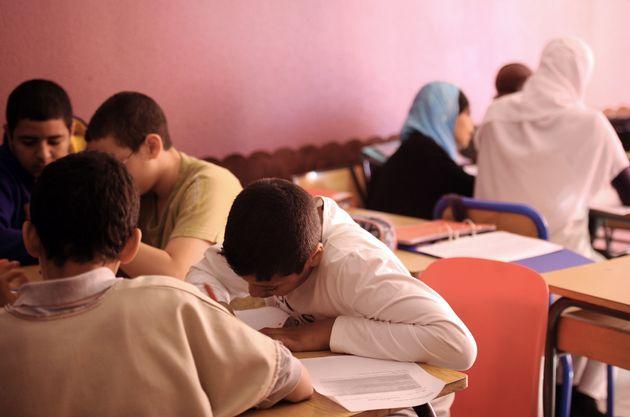 Des élèves dans une école privée musulmane à Toulouse, en