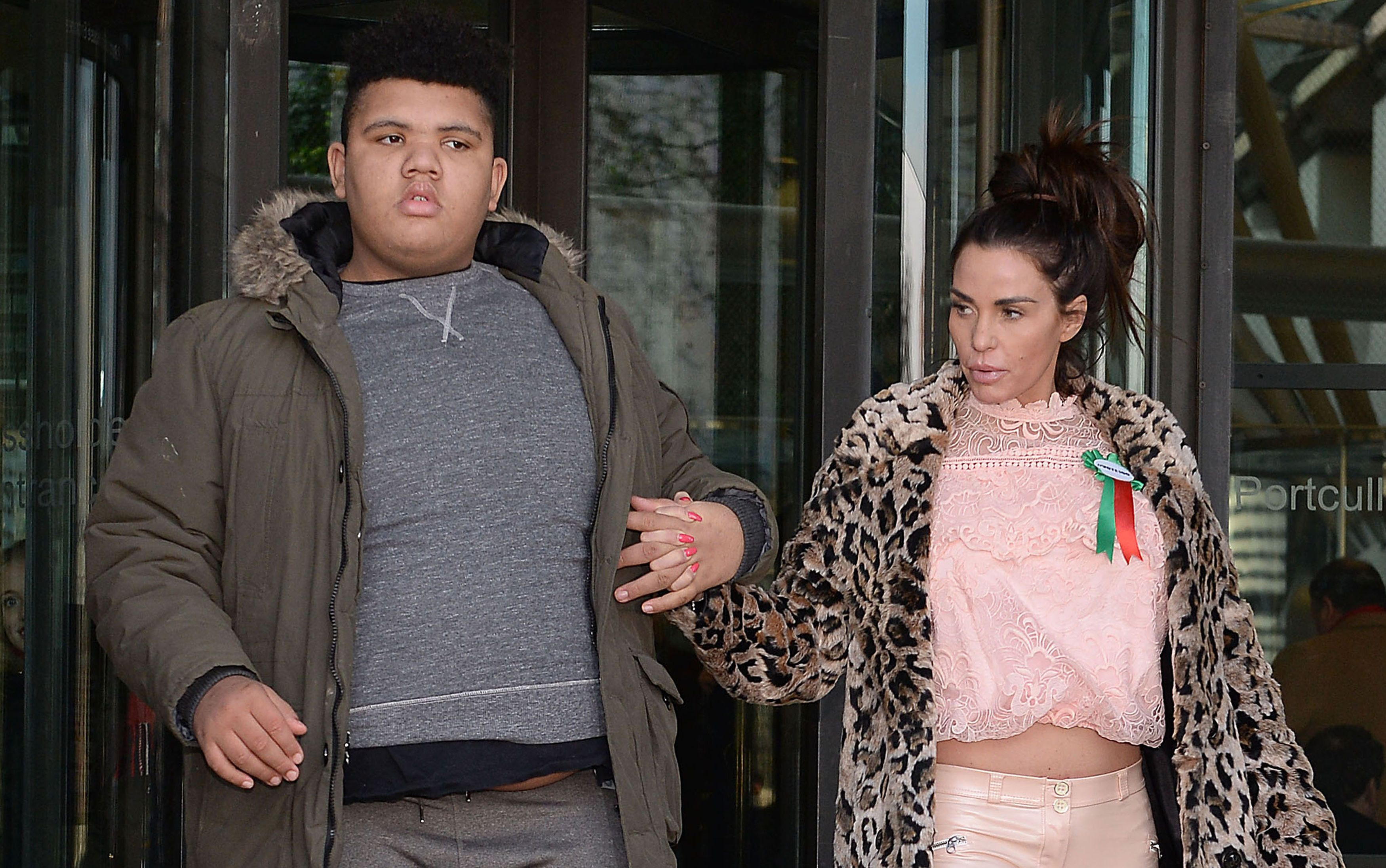 Katie Price Condemns 'Disgusting' Christmas Jumpers Mocking Son