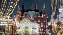Η Μόσχα στολίστηκε για τα Χριστούγεννα που θα τα γιορτάσει στις 7
