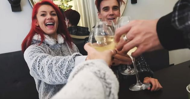 Joe and Dianne are spending time with his
