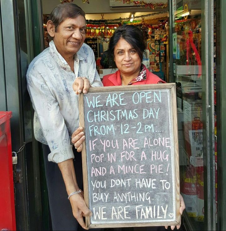 Shashi and Pallu Patel.