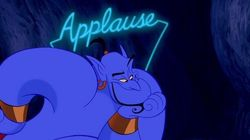 Le génie d'Aladdin ne ressemble plus à