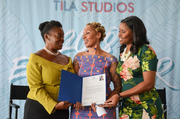 Tila Studios received a special recognition from Congresswoman Frederica S. Wilson at their EmpowerHer Brunch in Miami.