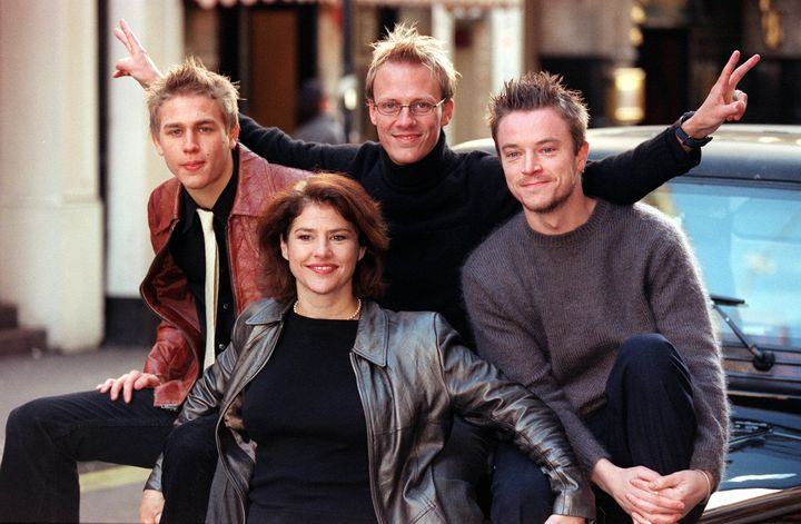 """The cast of the original British version of """"Queer as Folk"""" in 1999."""