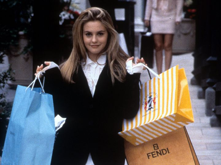 """Alicia Silverstone in the 1995 teen classic, """"Clueless."""" It has rom and it has com, but is it a rom-com?"""