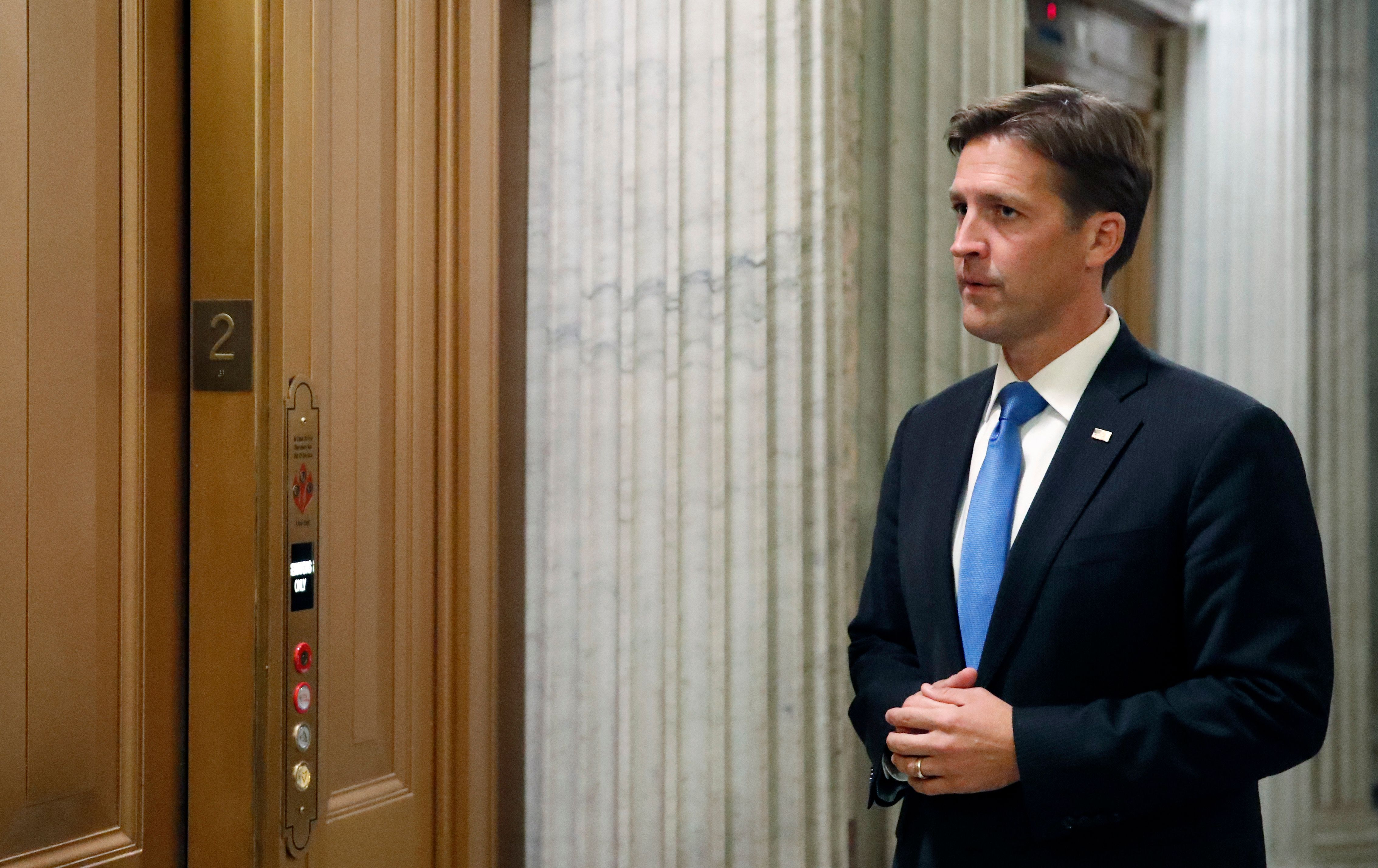 "Sasse another unexpected opponent of the bill worried that it would ""release thousands of violent felons very early"