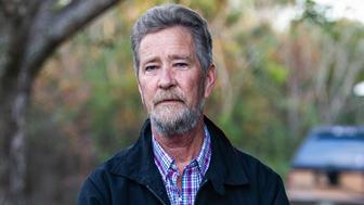 Leslie McCrae Dowless poses for a portrait outside of his home in Bladenboro, N.C. on Wednesday, Dec. 5, 2018. (Travis Long/Raleigh News & Observer/TNS via Getty Images)