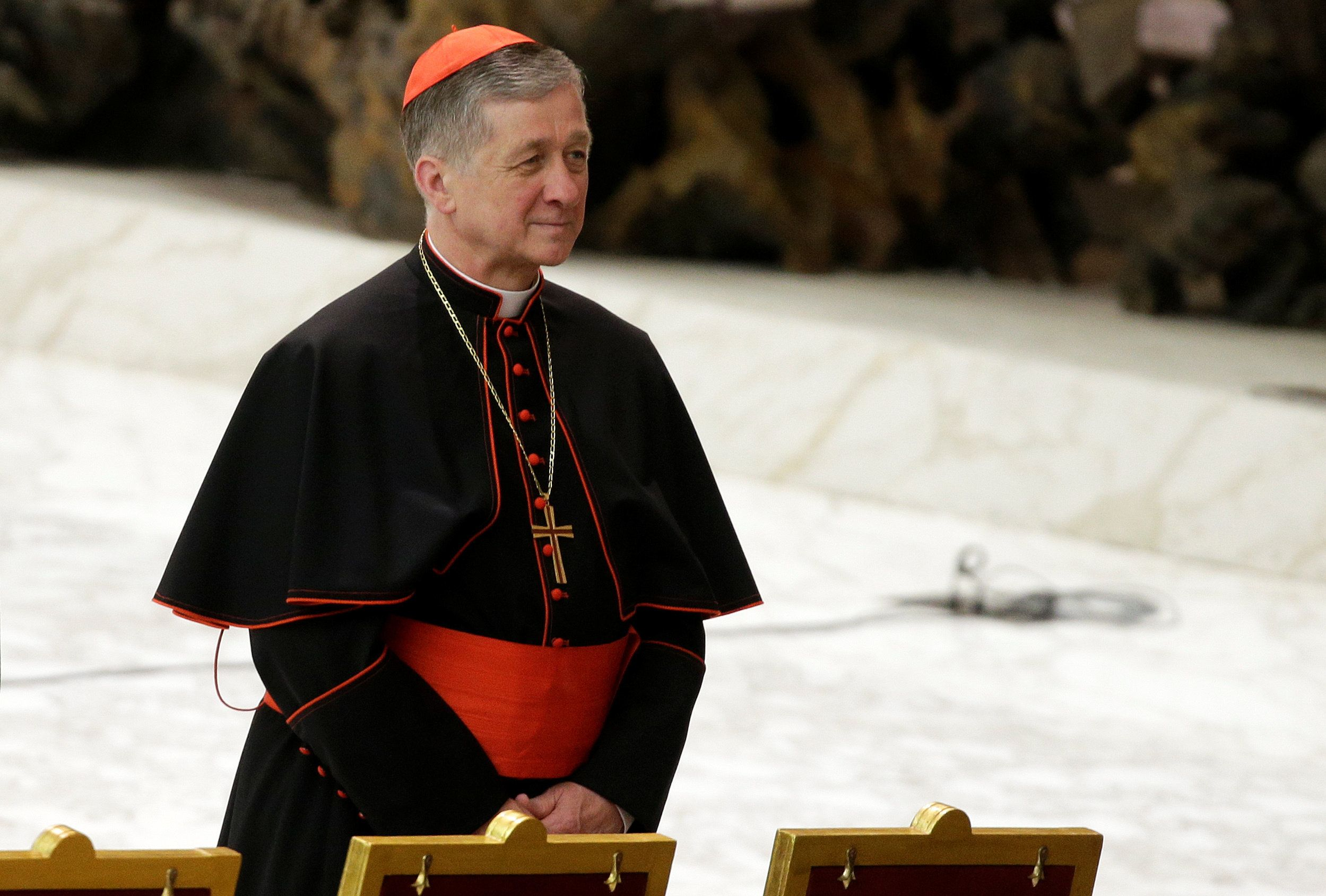 """Cardinal Blase J. Cupich, archbishop of Chicago, said,""""It is the courage of victim-survivors that has shed purify"""