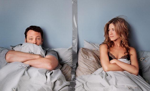 "Vince Vaughn and Jennifer Aniston in""The Break-Up."" It's notJane"