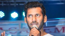 Tamil Actor Vishal Detained For Trying To Forcibly Enter Producers' Council