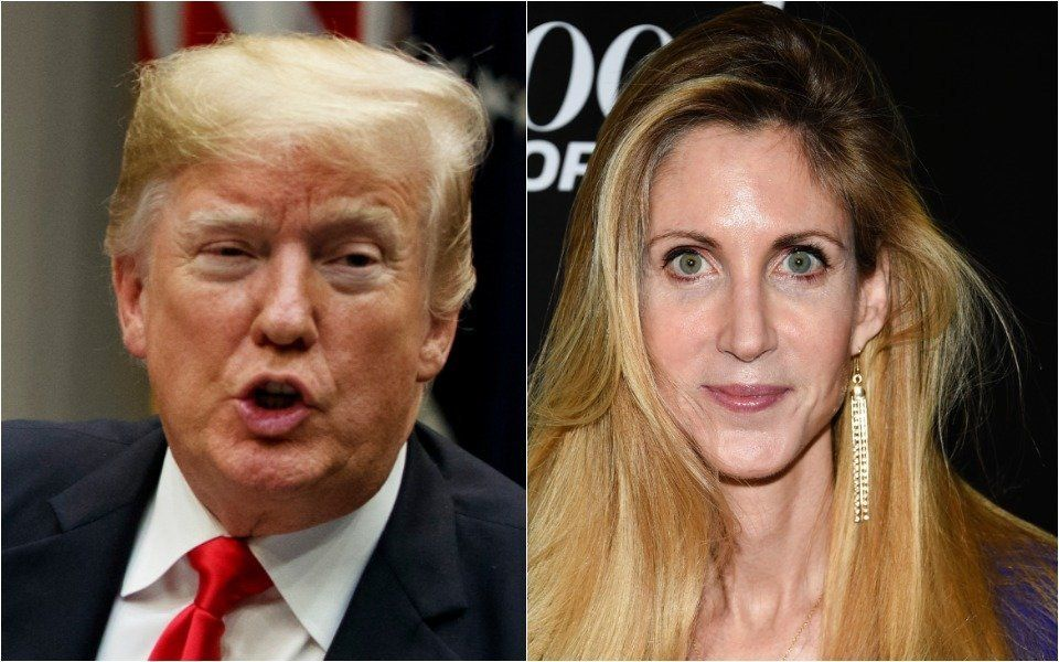 Donald Trump and Ann Coulter