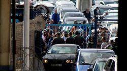 Ceuta: Aidées par les porteurs, les forces militaires marocaines empêchent l'entrée de migrants