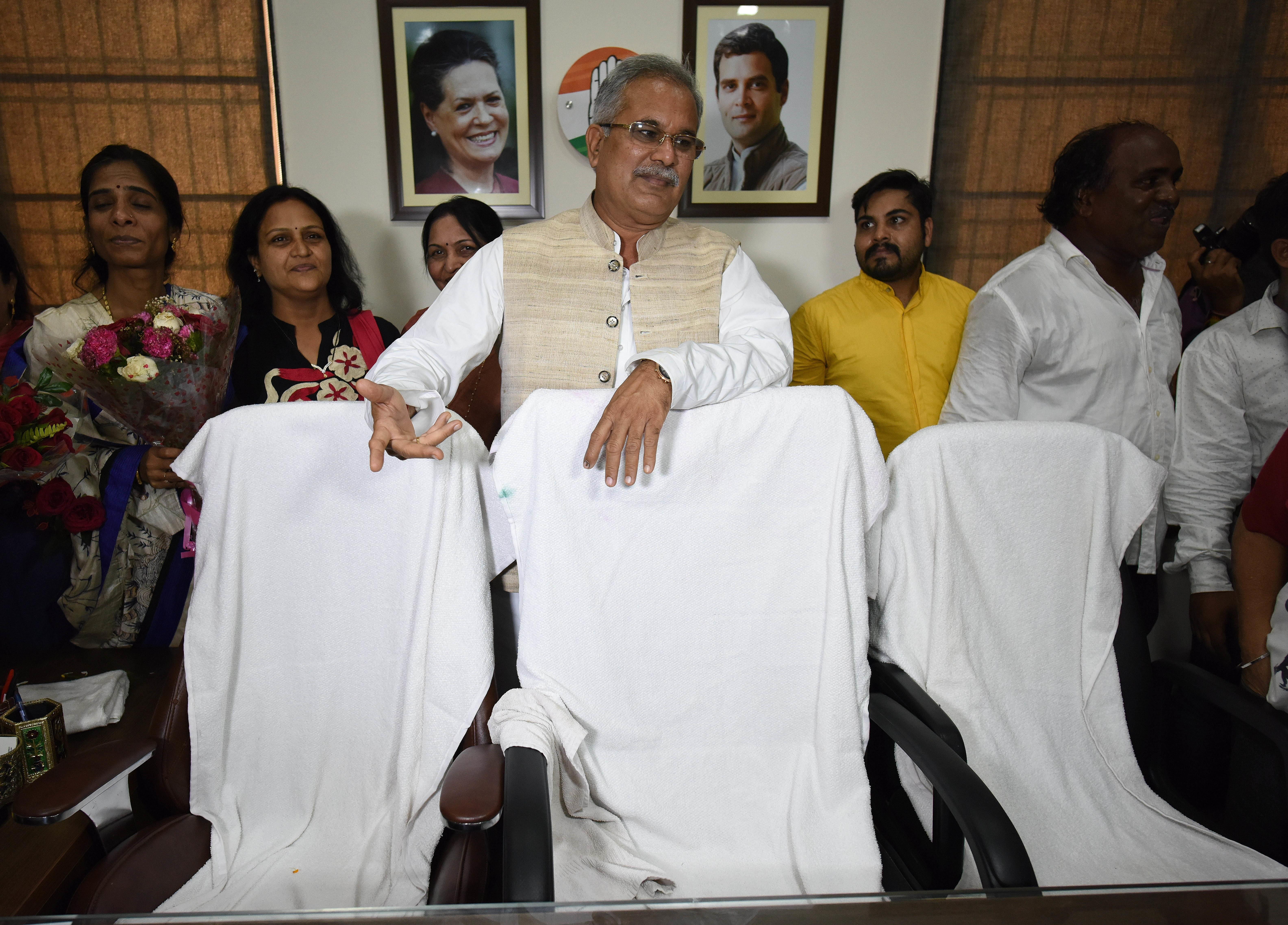Major Bureaucratic Reshuffle In Chhattisgarh After Bhupesh Baghel Takes