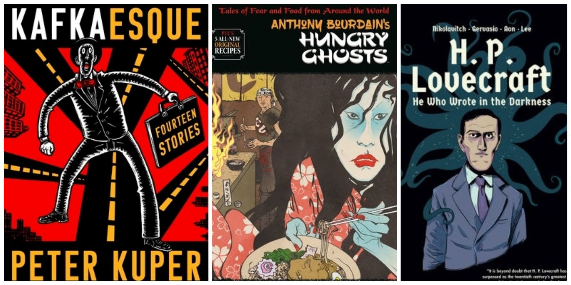 From HP Lovecraft To Kafka, Graphic Novelists Are Bringing Back The