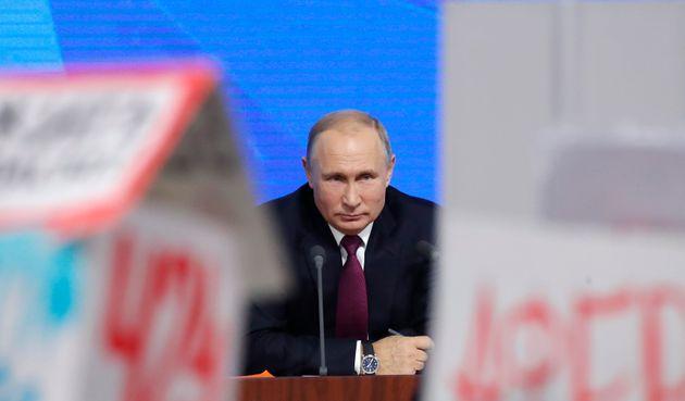 Russlands Präsident Putin warnt vor Atomkrieg: