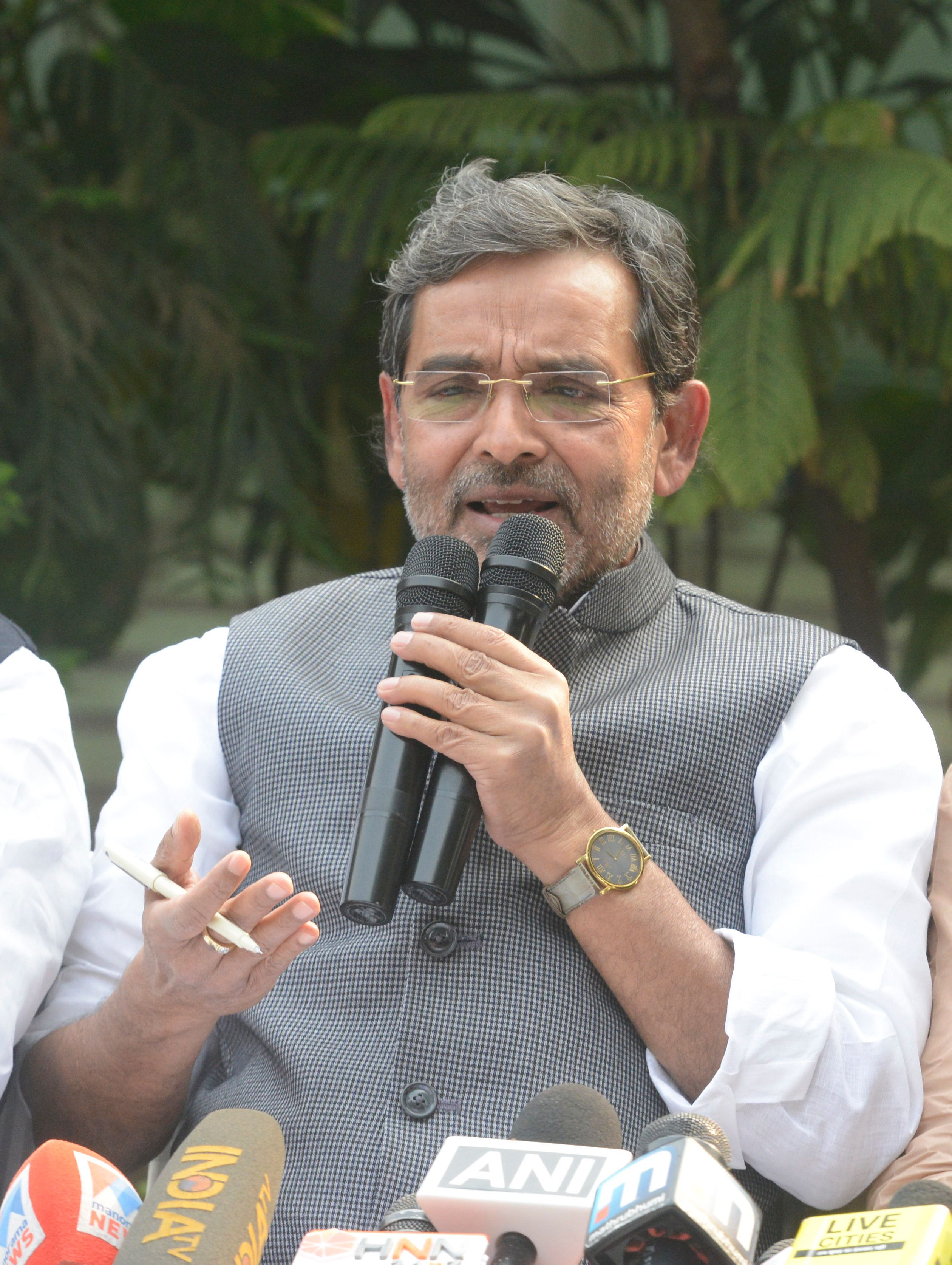 Upendra Kushwaha Joins Opposition Alliance in Bihar Days After Quitting