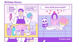 Comic Captures The Highs And Lows Of Dating Someone Who Loves To