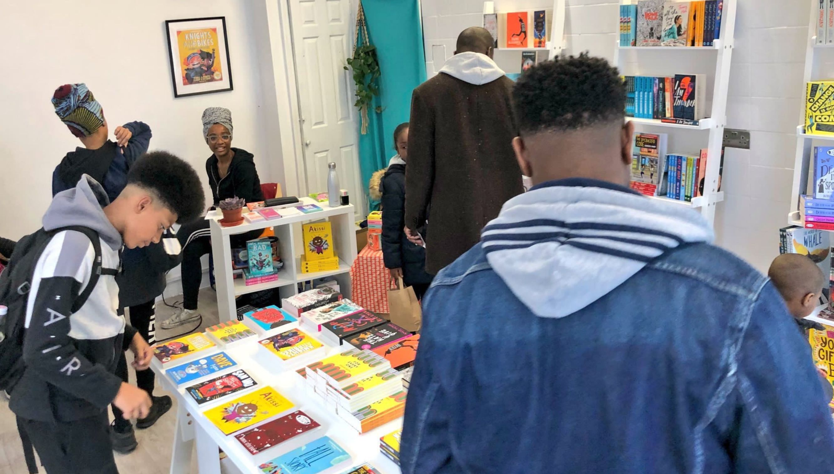 'It's About Time': Pop-Up Shop Selling BAME Kids Books Gets Backing Into