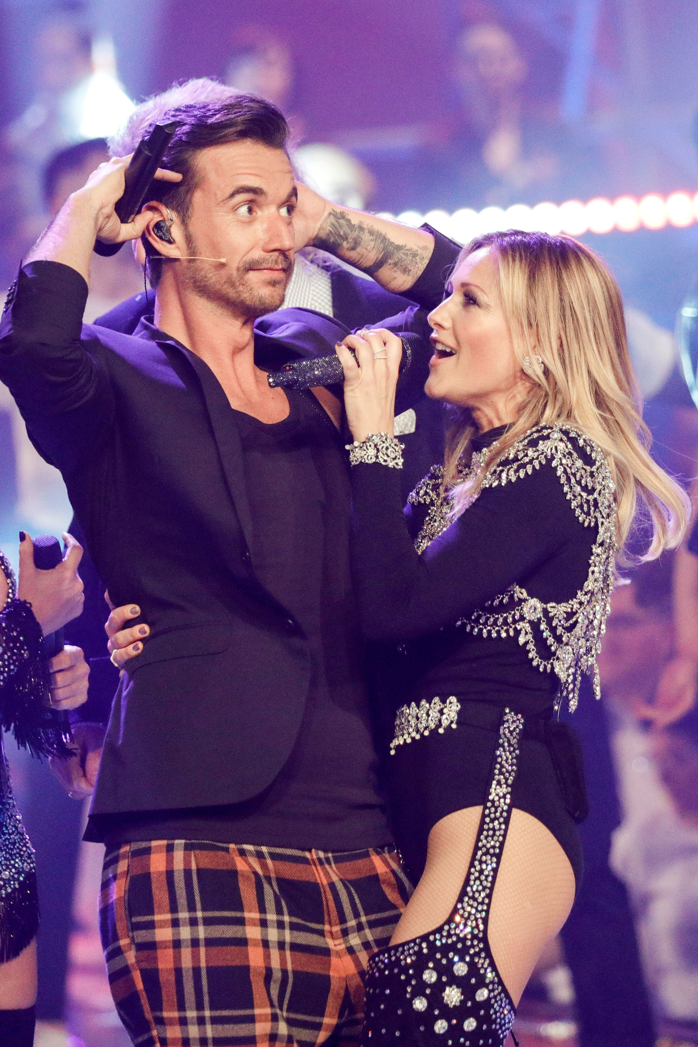Damals war noch heile Welt: Florian Silbereisen und Helene Fischer bei einem gemeinsamen Auftritt im Sommer 2018.